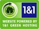 Alpine Interactive's websites are powered by 1&1 Green Hosting
